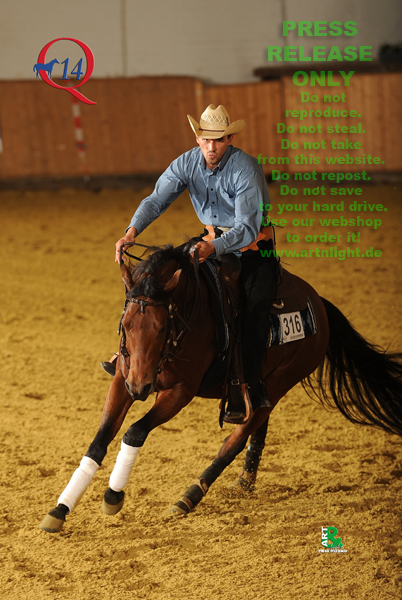 SOS Ima Player - Reining Futurity