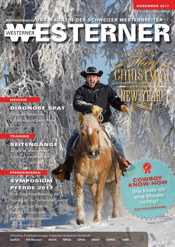 Der Dezember WESTERNER ist daSWISS WESTERNHORSE | SWISS WESTERNHORSE
