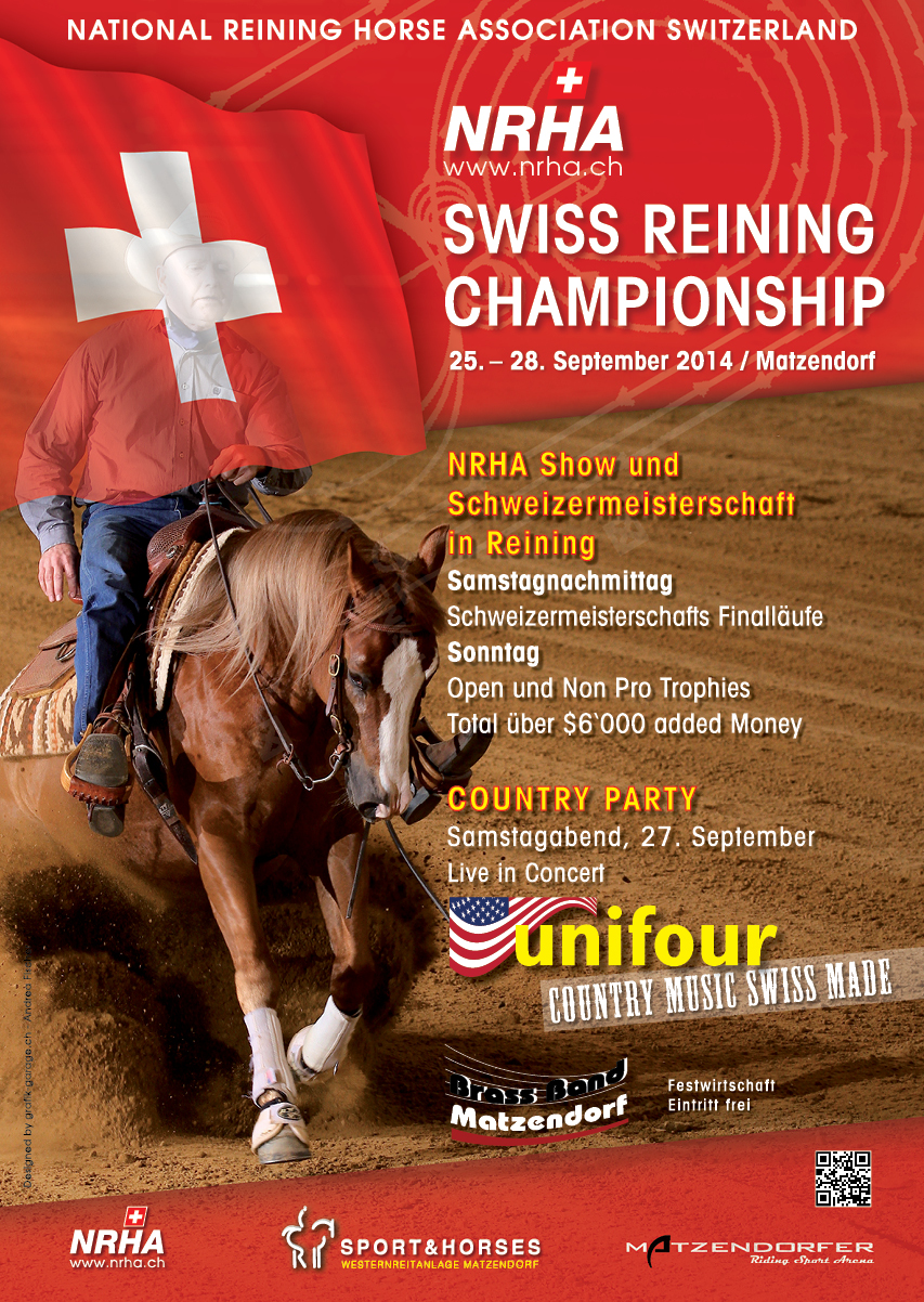 SM-Reining-Plakat